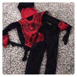 Ninja costume with everything